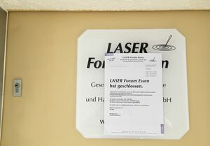 LASER Forum Essen hat geschlossen.